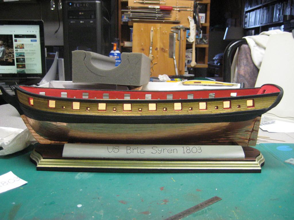 US Brig Syren 1803 Model Shipways MS 2260 - Page 3 1613