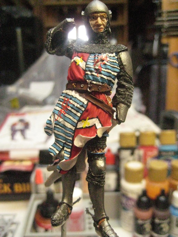 Chevalier Français 1340 copie figurine Pégaso PEG-90023 172