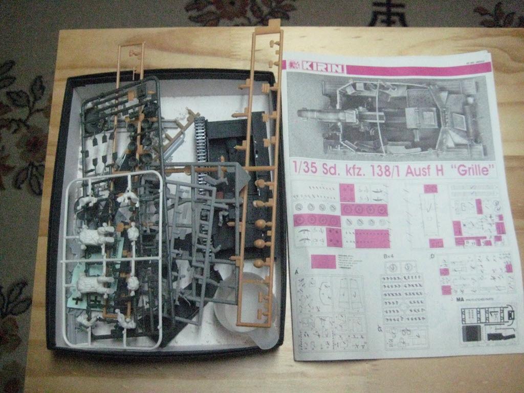 Grille 1/35 Sd. Kfz 138/1 Ausf H de la marque Kirin (Dragon model) 177