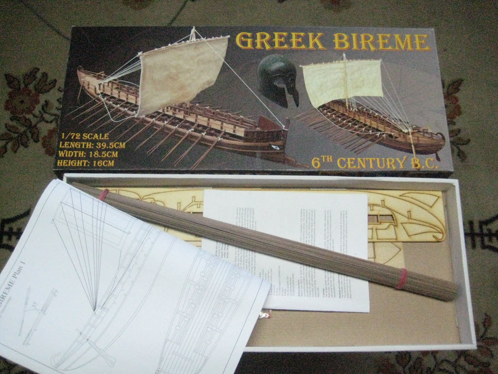 Greek Bireme 6Th Century B.C. 1/72 Dusek D001 179
