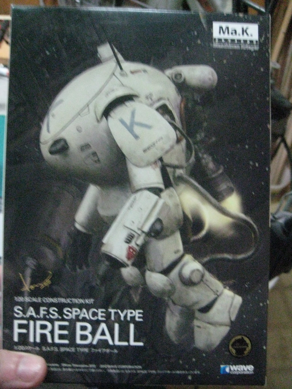Ma.K. Fire Ball S.A.F.S. Space Type 185
