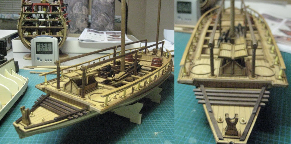 Swedish Armed Launch  1775 Mantua kit #722 1/35 1_1_410