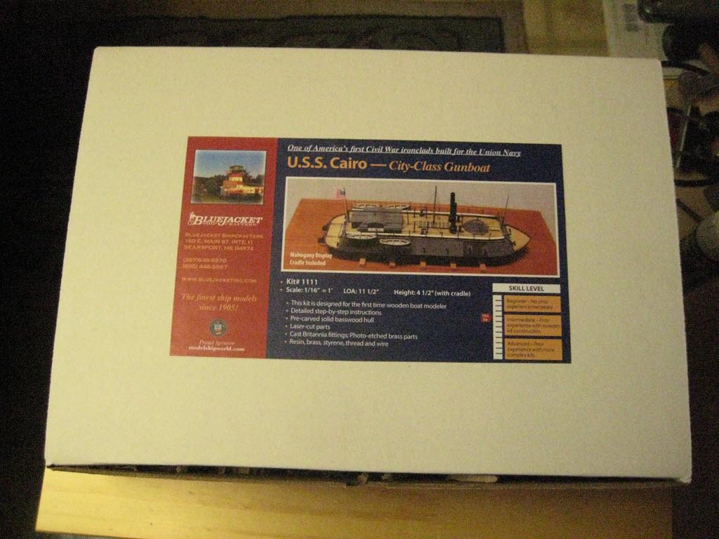 USS Cairo 1862 kit BlueJacket kit K1111 1/16'' au pieds 1:192 1_a11