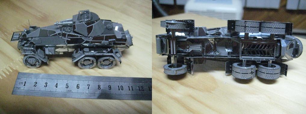 maquette pliage métal PE 1a104