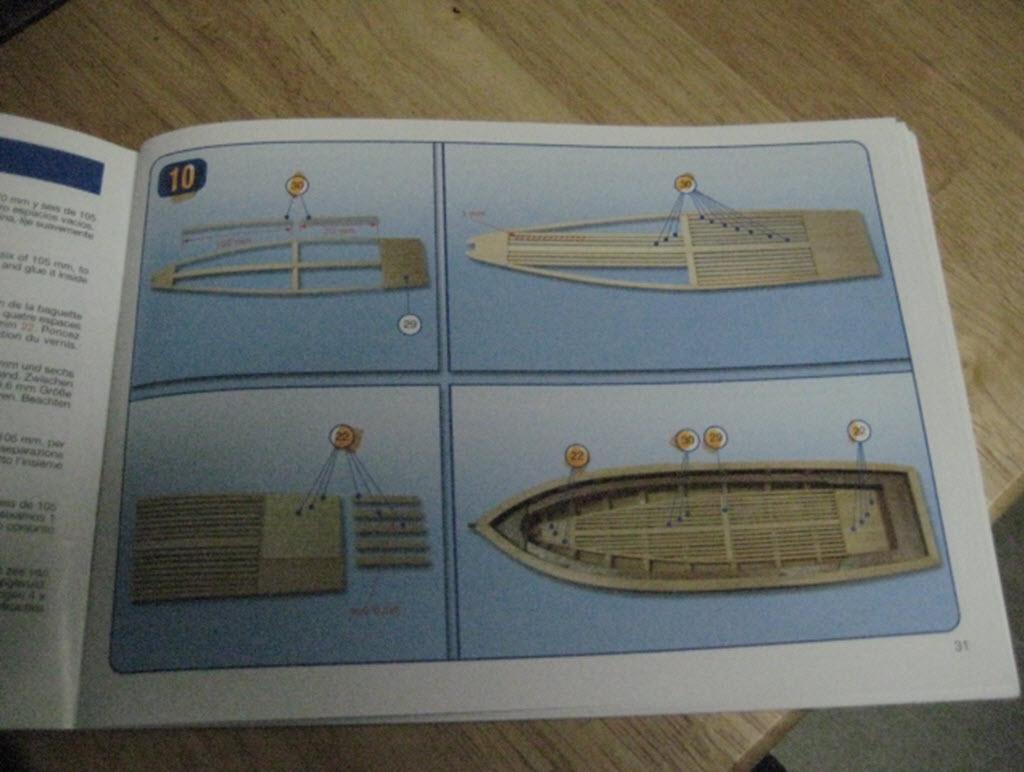 Santisima Trinidad 1/3 Chaloupe du capitaine A.L. kit #10914 1a212
