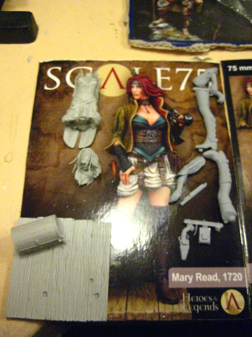 Mary Read 75mm de Scale 75 1a28