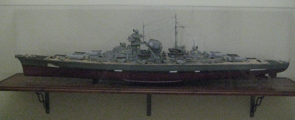 Bismarck 1/200 scale Hachette 1a30