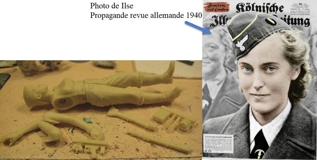 Ilse Hirsch - Bund Deutscher Mädel 1945 Verlinden 120mm 1a32