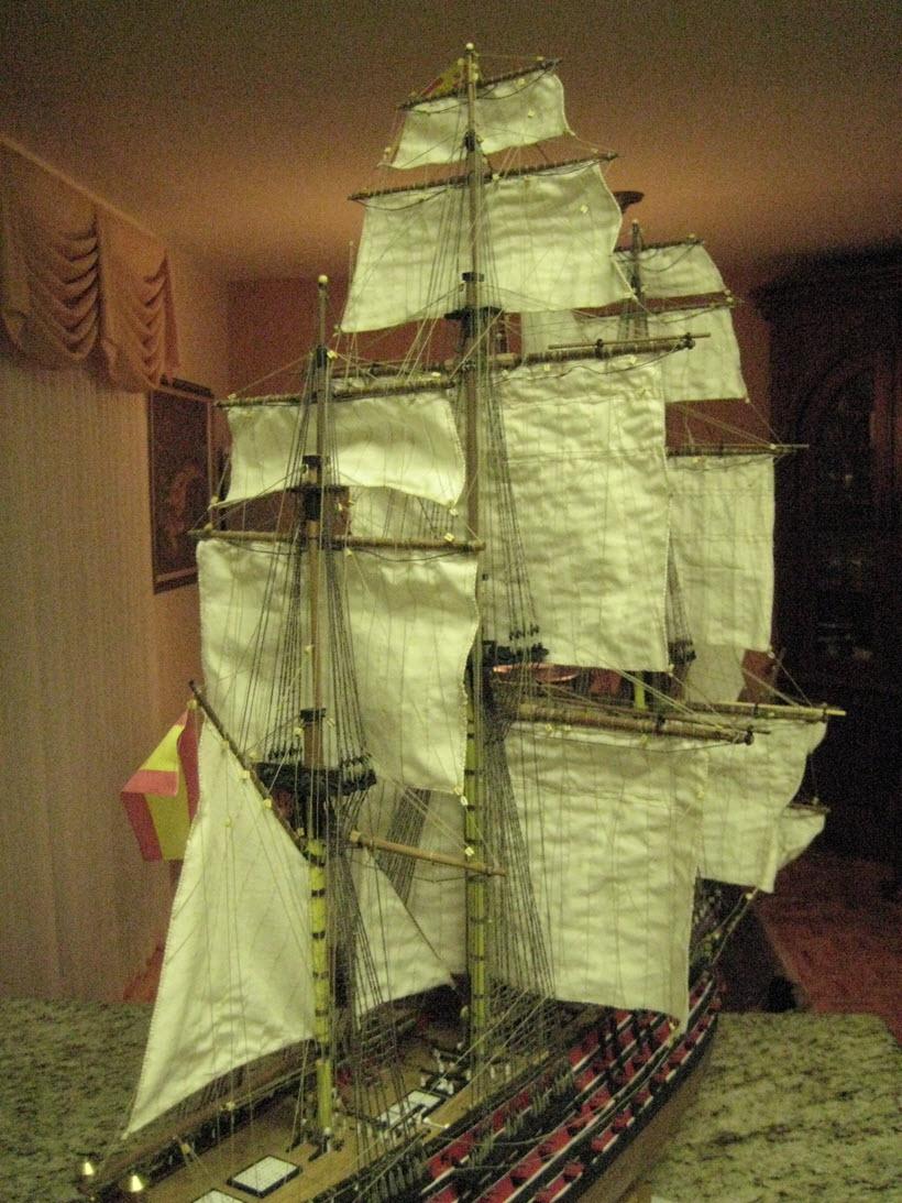 Santisima Trinidad 3/3 Navire Kit OcCre #15800  - Page 2 1a95