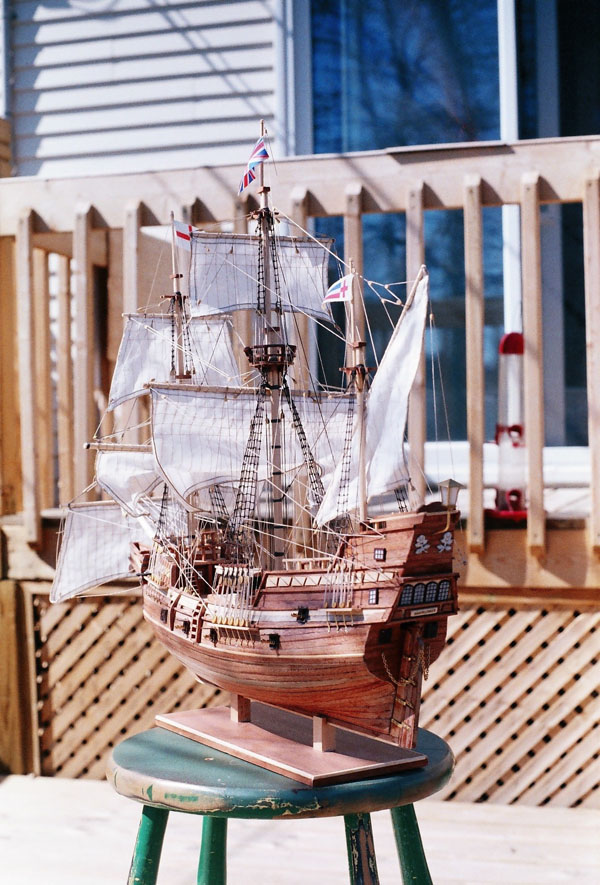 Mayflower 1:65 de Constructo kit #1620. 1b10