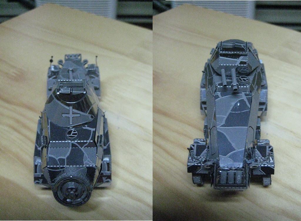 maquette pliage métal PE 1b102