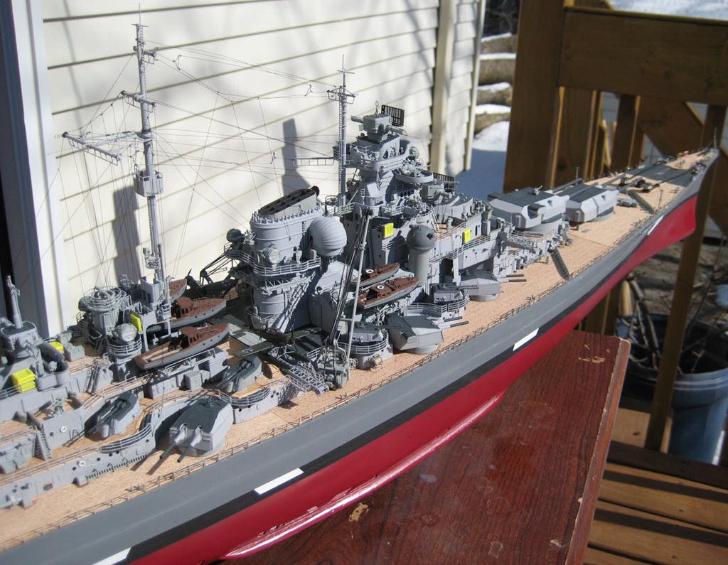 Bismarck 1/200 scale Hachette 1b31