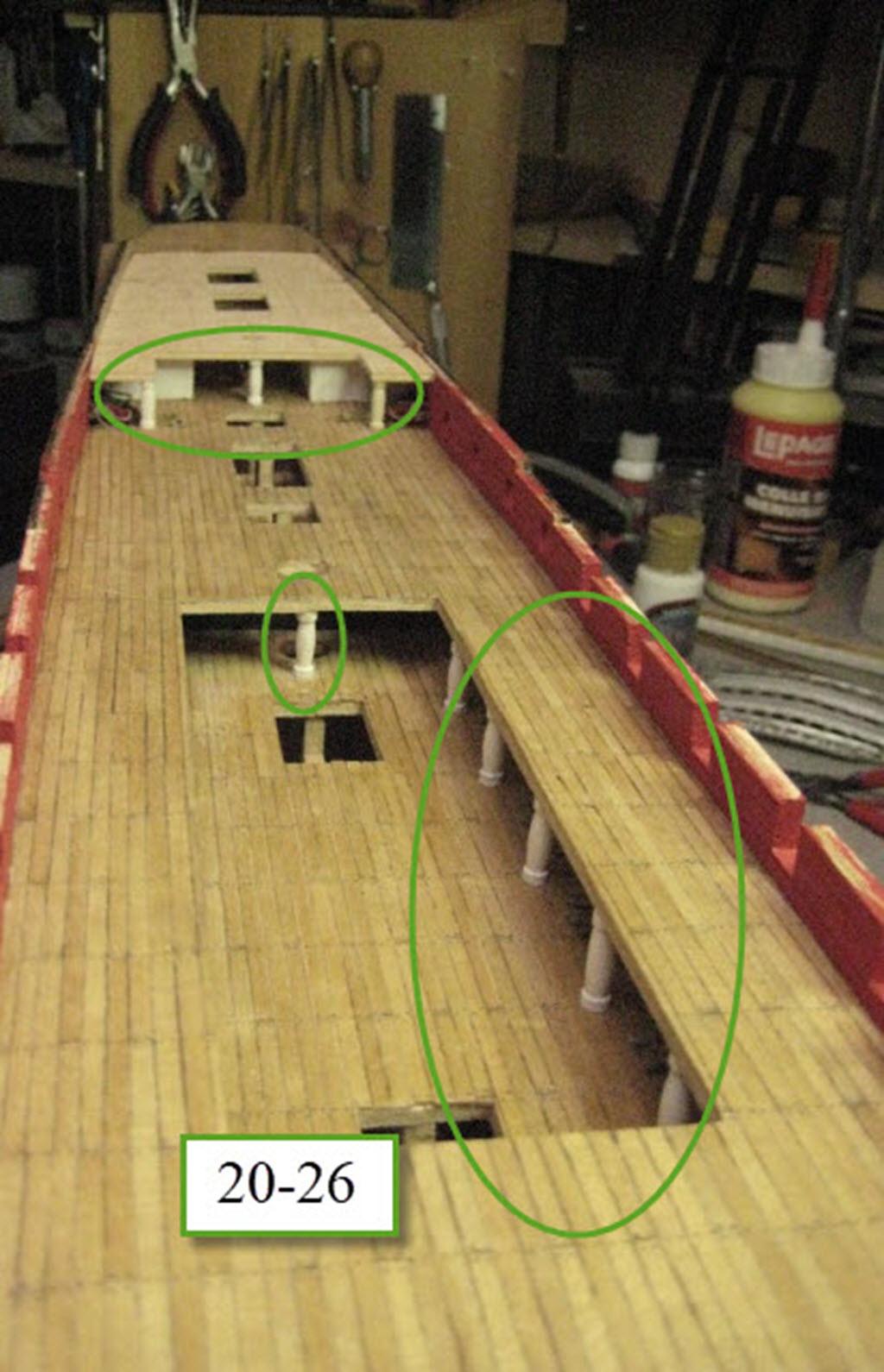 Santisima Trinidad 3/3 Navire Kit OcCre #15800  - Page 2 1b81