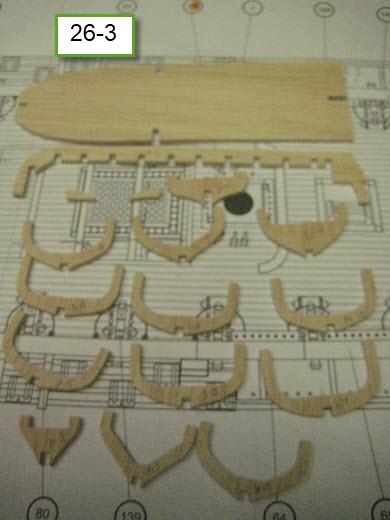Santisima Trinidad 3/3 Navire Kit OcCre #15800  - Page 2 1b88