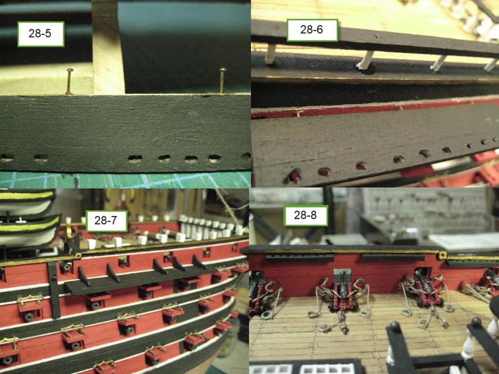 Santisima Trinidad 3/3 Navire Kit OcCre #15800  - Page 2 1b90