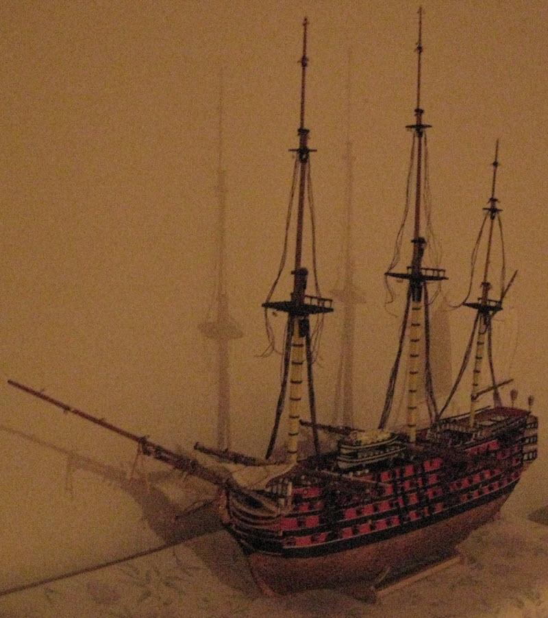Santisima Trinidad 3/3 Navire Kit OcCre #15800  - Page 2 1b91