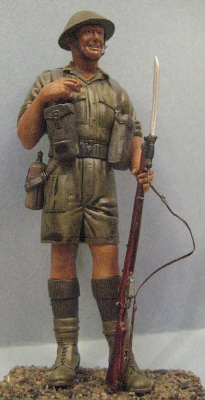 Rat du désert britanique1941 Verlinden 120mm 1c13