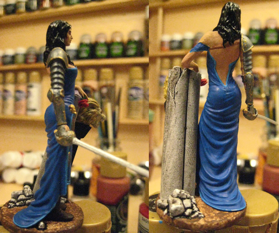 Rebel et Romantique Best Soldier figurine 75mm 1c17