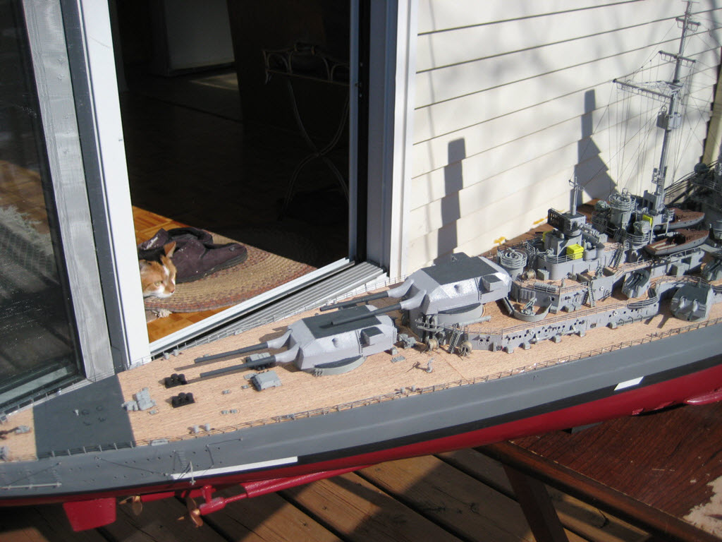 Bismarck 1/200 scale Hachette 1c27