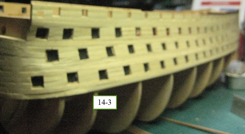 Santisima Trinidad 3/3 Navire Kit OcCre #15800  1c66
