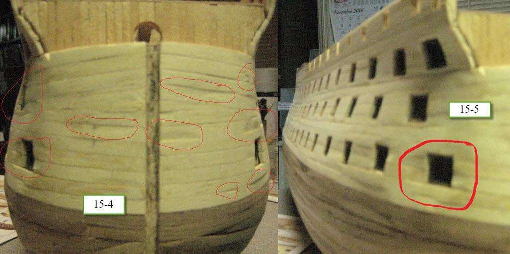 Santisima Trinidad 3/3 Navire Kit OcCre #15800  1c67