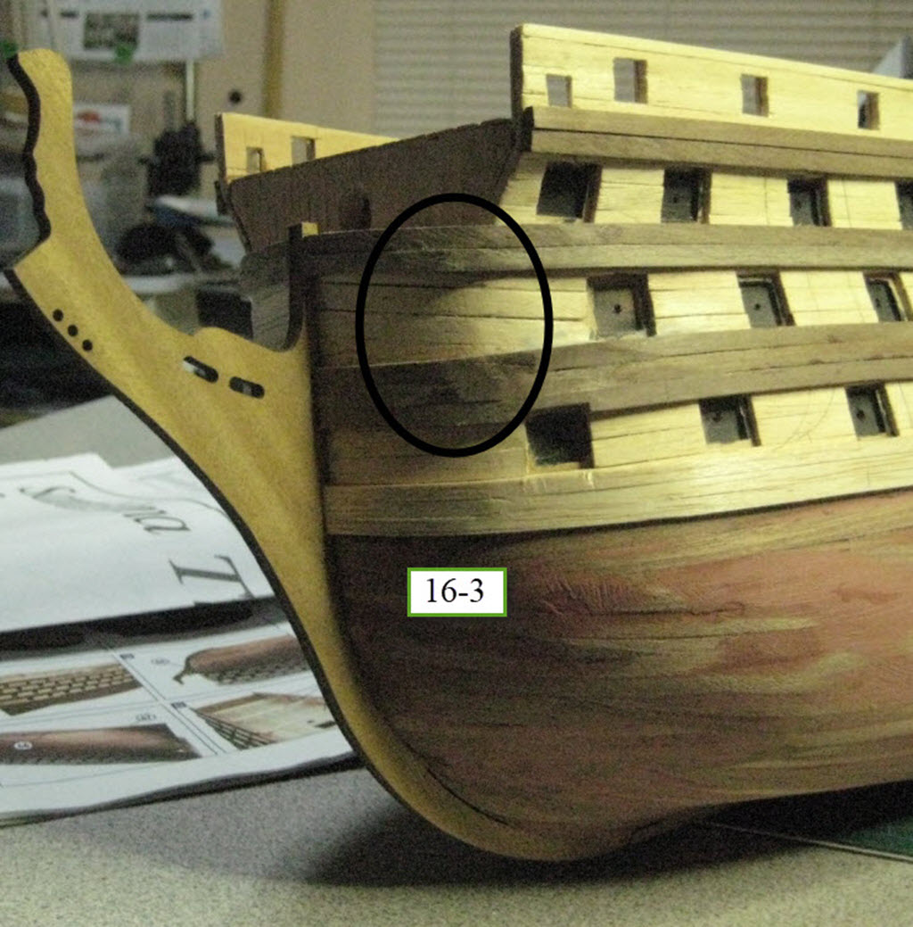 Santisima Trinidad 3/3 Navire Kit OcCre #15800  1c68