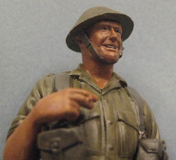 Rat du désert britanique1941 Verlinden 120mm 1d11