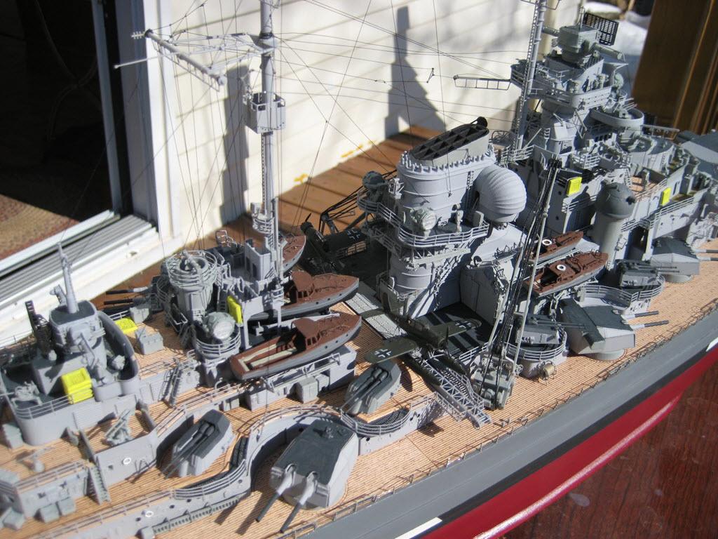 Bismarck 1/200 scale Hachette 1d19