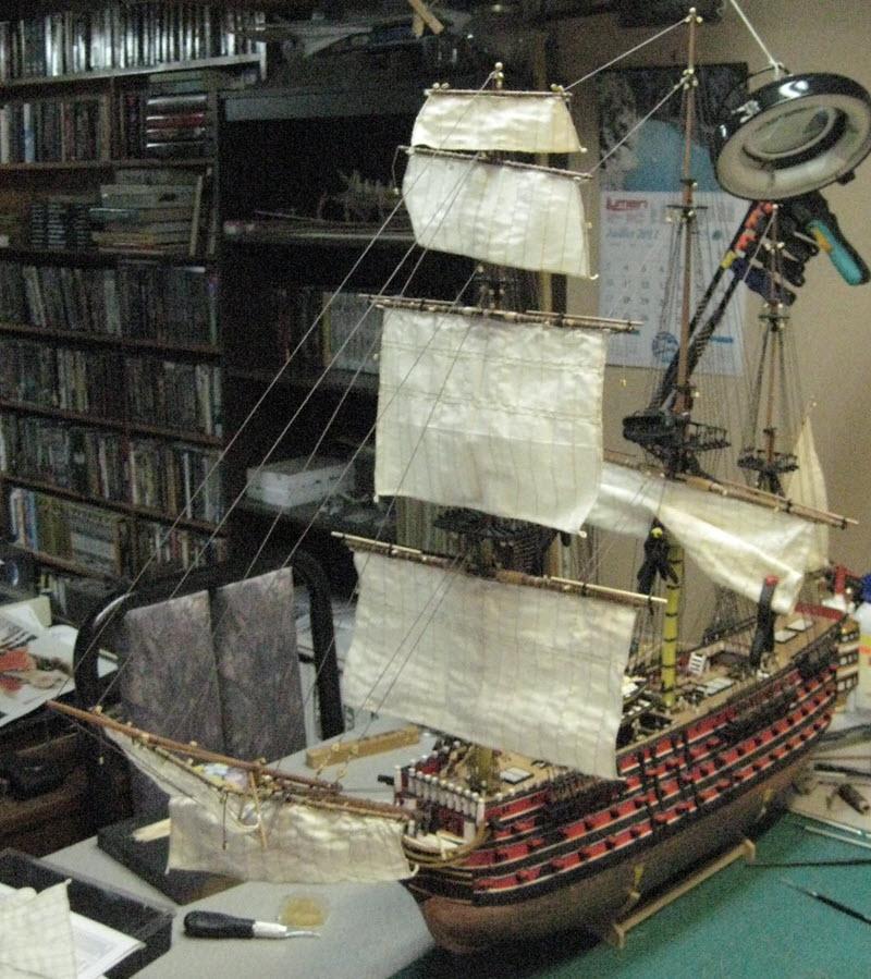 Santisima Trinidad 3/3 Navire Kit OcCre #15800  - Page 2 1d57