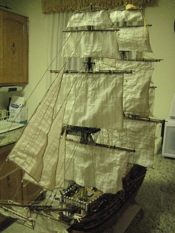 Santisima Trinidad 3/3 Navire Kit OcCre #15800  - Page 2 1d58