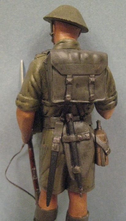 Rat du désert britanique1941 Verlinden 120mm 1e11