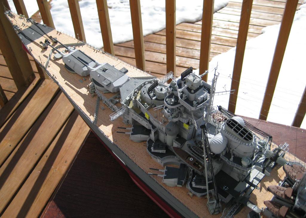 Bismarck 1/200 scale Hachette 1e18