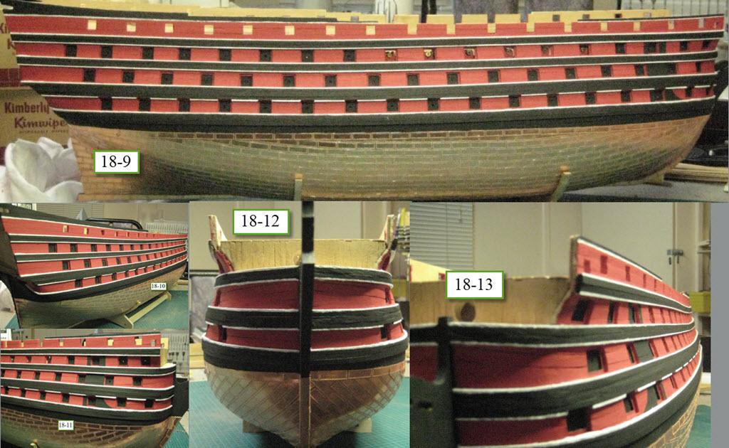 Santisima Trinidad 3/3 Navire Kit OcCre #15800  1e32