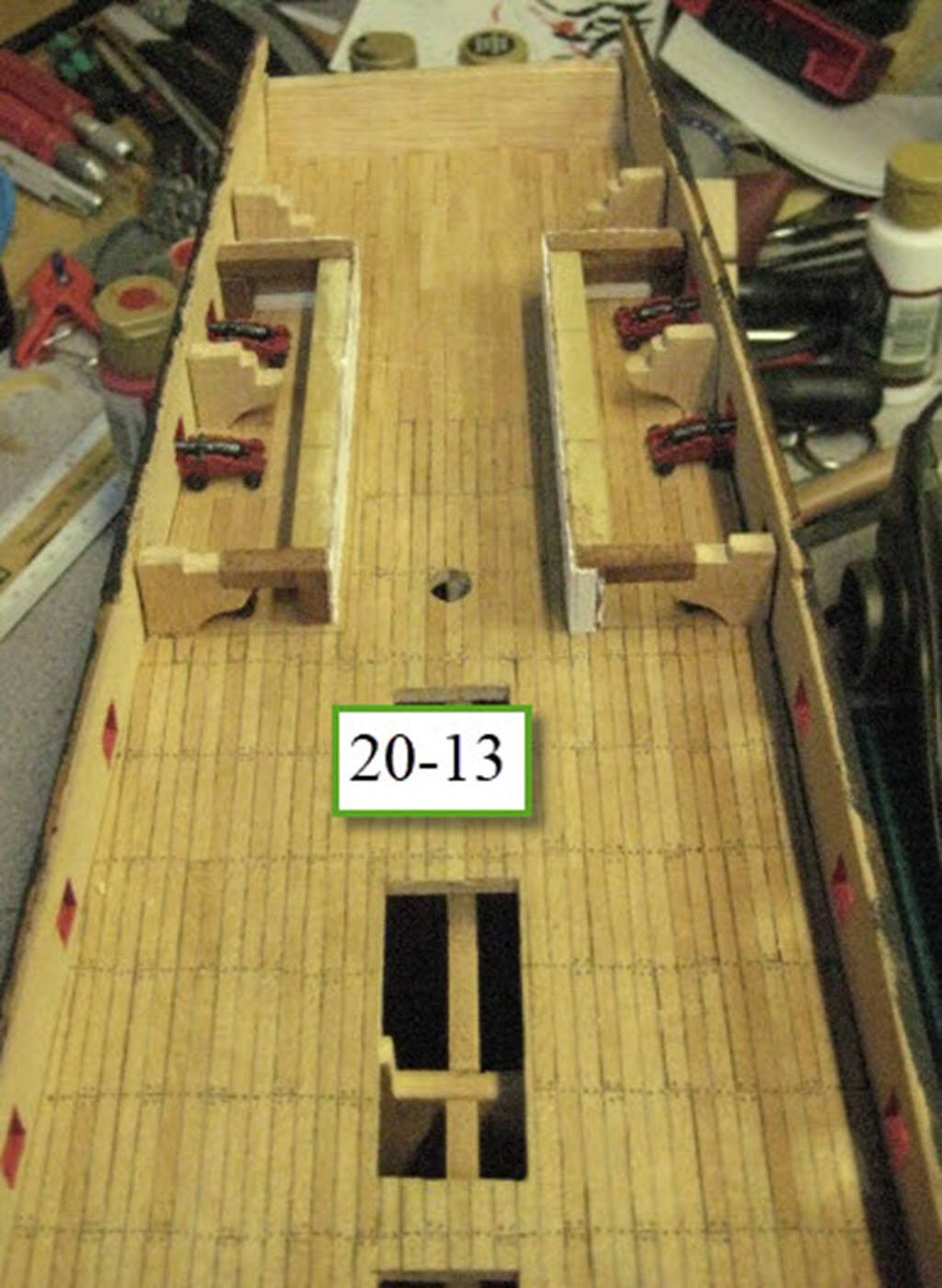 Santisima Trinidad 3/3 Navire Kit OcCre #15800  1e33