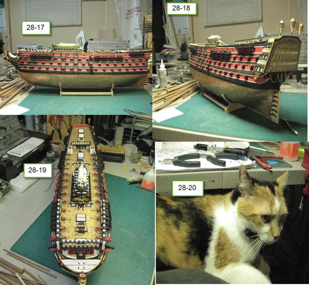 Santisima Trinidad 3/3 Navire Kit OcCre #15800  - Page 2 1e38