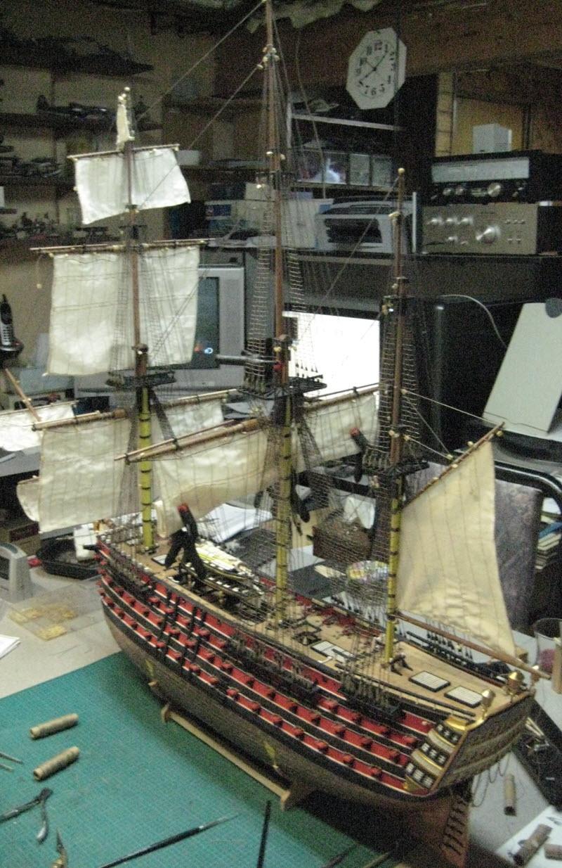 Santisima Trinidad 3/3 Navire Kit OcCre #15800  - Page 2 1e39