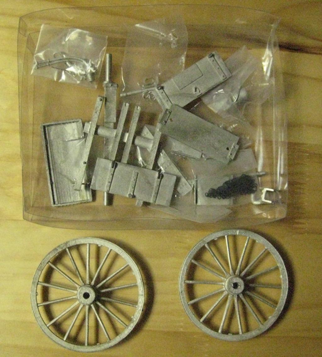 Limber Ammunition Chest 1:16 Model Shipways kit MS4002 1e42