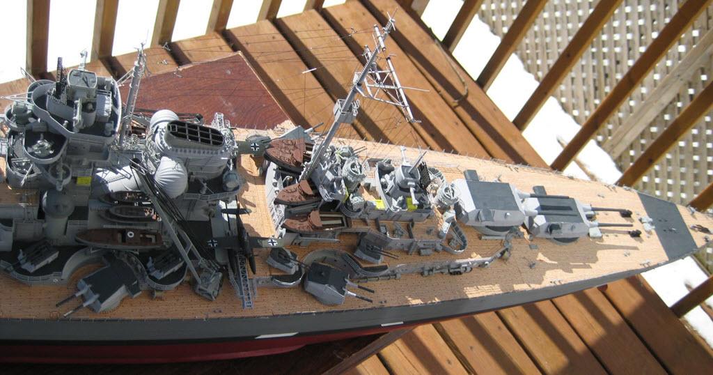 Bismarck 1/200 scale Hachette 1f15