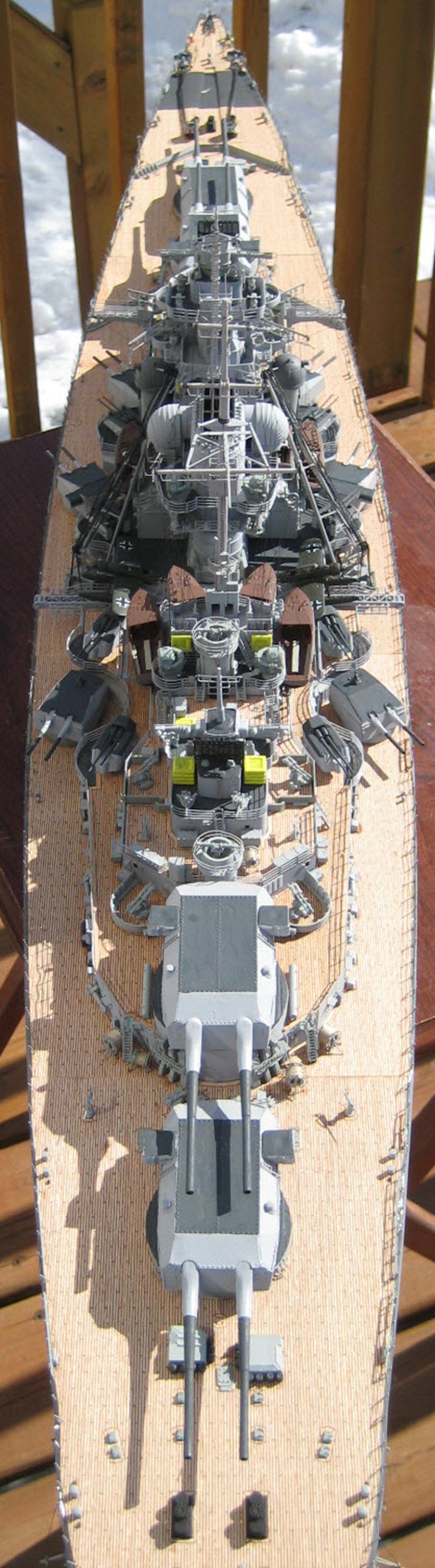 Bismarck 1/200 scale Hachette 1g14