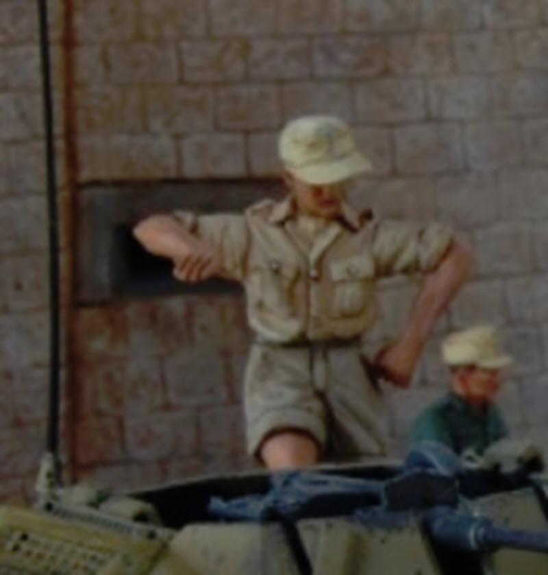 De Tobruk à El Alamein - Octobre 42 - Maquettes Tamiya et Italeri - Figurines MK35 - 1/35e 2019-014