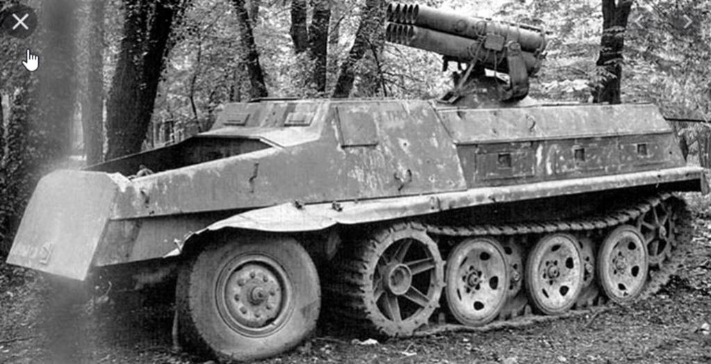 Panzerwerfer 42 auf Maultier SD. KFZ. 4/1 2020-014