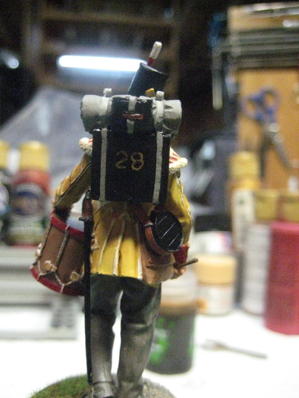 Tambour 28em régiment a pieds (Anglais) Figurine Nuts Planet 75mm (NP-75009) 248