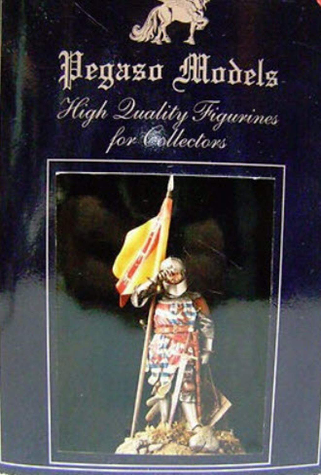 Chevalier Français 1340 copie figurine Pégaso PEG-90023 268