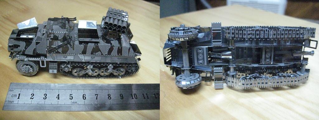 maquette pliage métal PE 2a14