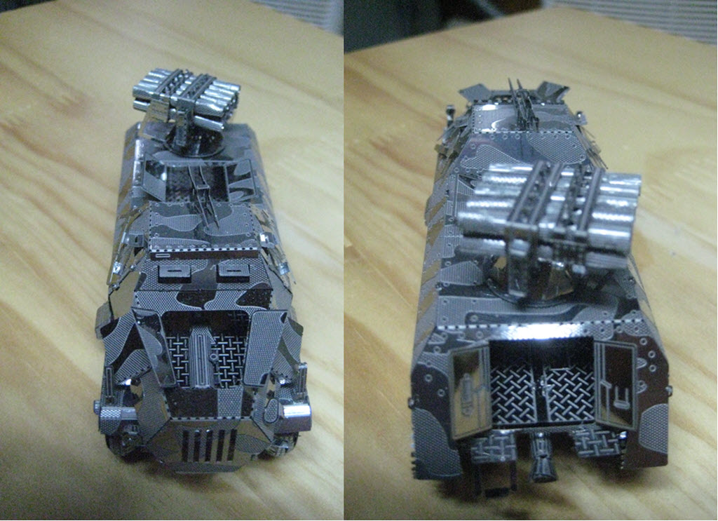 maquette pliage métal PE 2b14
