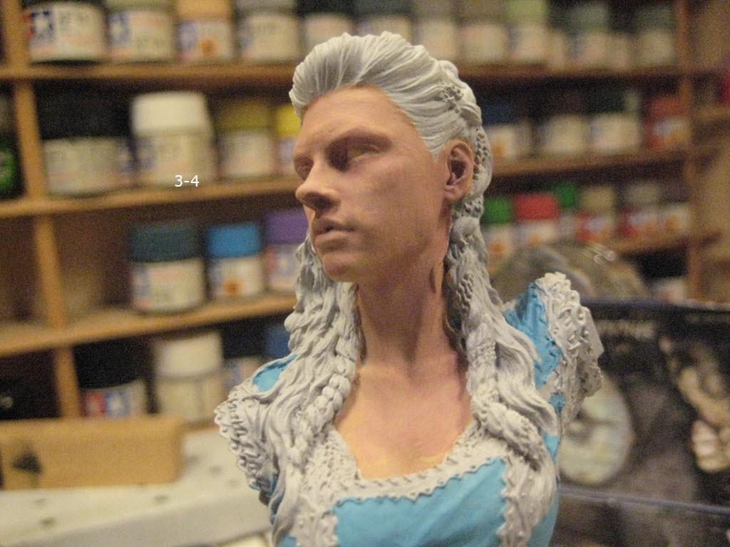 Like Lagertha (Shieldmaidens) Nuts Planet buste résine 1/10 3-411
