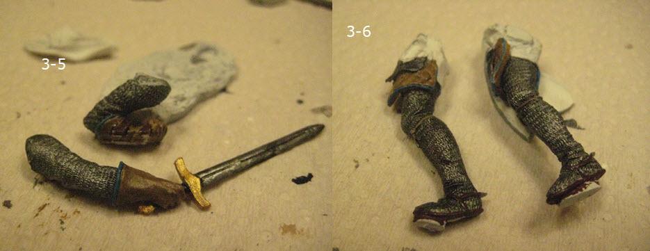 Chevalier Médiévale Scale75 métal 75mm SCM-006 3-5_610