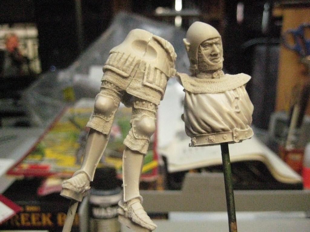 Chevalier Français 1340 copie figurine Pégaso PEG-90023 369