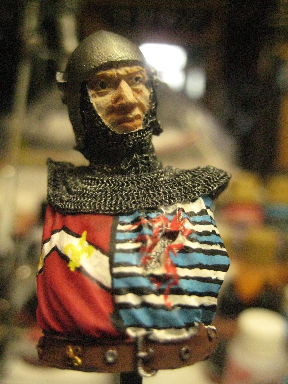 Chevalier Français 1340 copie figurine Pégaso PEG-90023 370