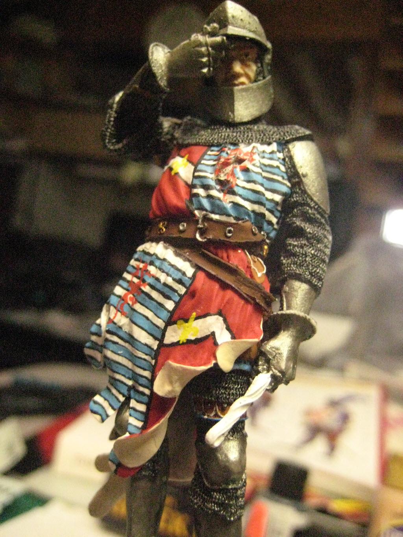 Chevalier Français 1340 copie figurine Pégaso PEG-90023 371
